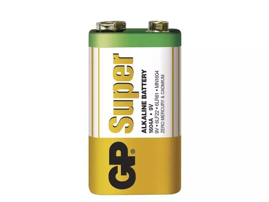 9V 6LF22 GP Super Alkáli tartós elem (fóliás) BAT 6LF22 GP.S