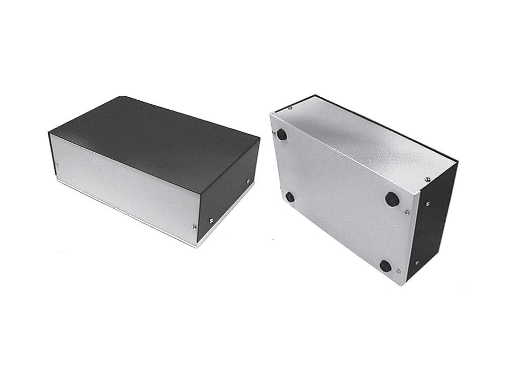 Alumínium műszerdoboz 300x200x100mm (szellőző nélkül) BOX M300/200/10/A