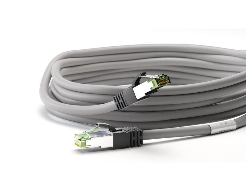 CAT8.1 UTP patch kábel 1m 8p. CABLE S/FTP 8.1/01