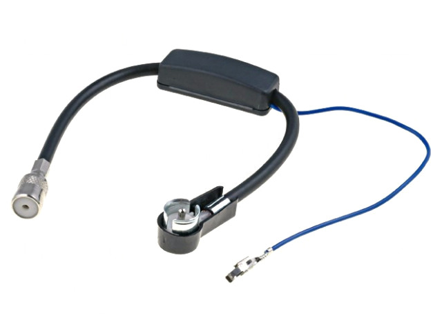 Autó antenna erősítő ISO csatlakozókkal CAR-ANT.A9608