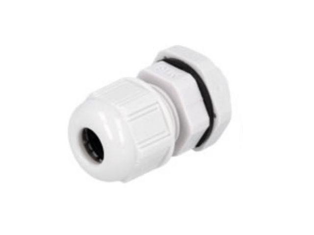Műanyag tömszelence világosszürke AG-12 CB-AG12GL-IP68