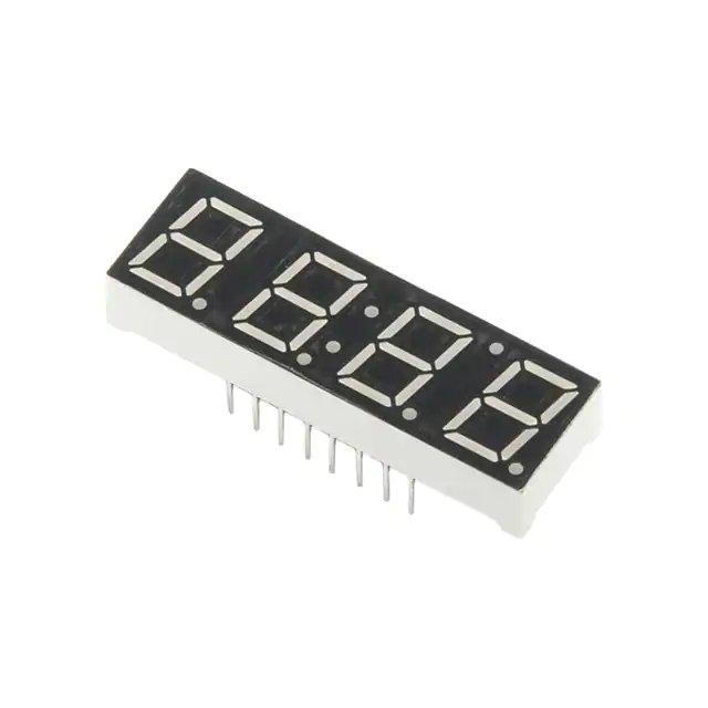 4-digites 7-szegmens kijelző KÉK DISPLAY COM09481