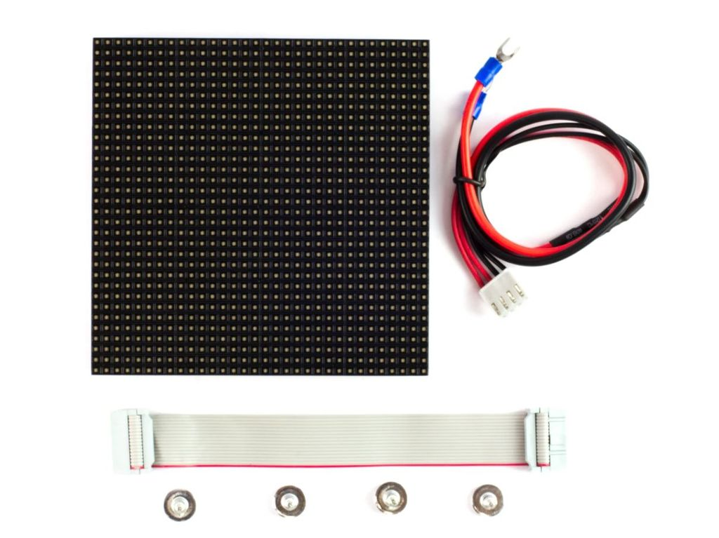 RGB LED MÁTRIX 32 x 32db 6mm-es LED COMB006