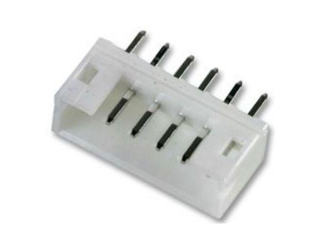 Egysoros csatlakozó aljzat apa (PCB) DIV-PH 6p. táv. 2.0mm CSAT-17062/B