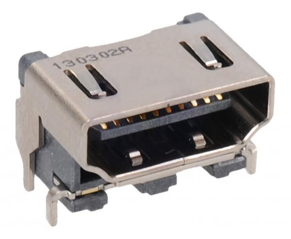 LG HDMI 19p aljzat panelre SMD CSAT-HDMI06
