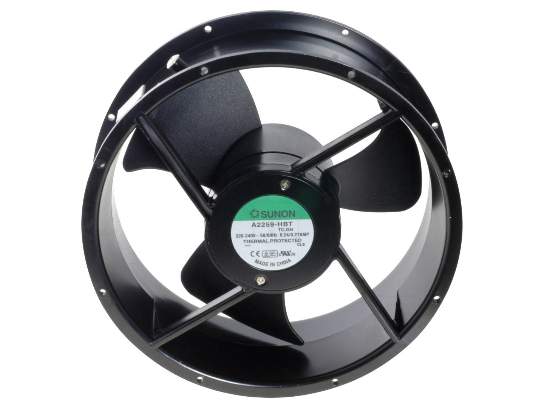 230V ventilátor 254x89mm A2259HBT.TC.GN CY 230/25489
