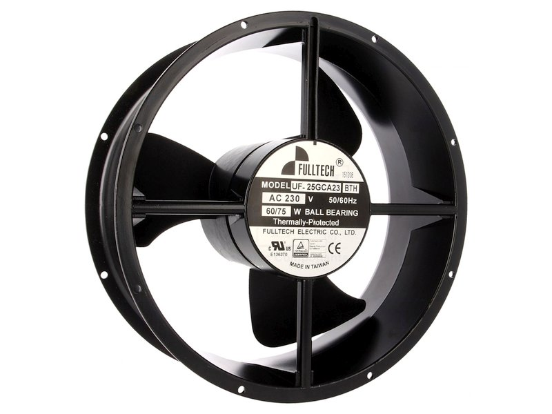 230V ventilátor 254x89mm UF25GCA23-H CY 230/25489/60W