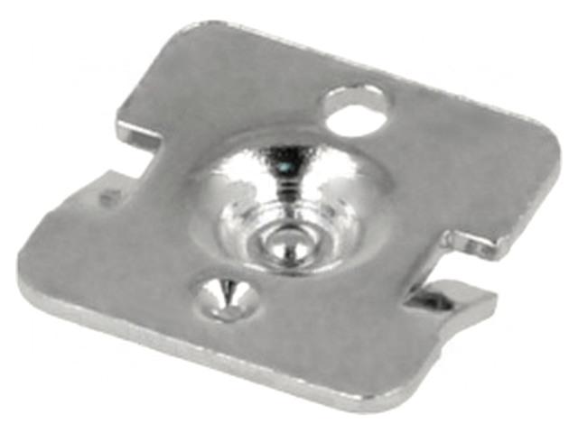 Elemtartó rugó nélküli oldal érintkezője 1db-os AAA KS5225 BAT.H.SP-02