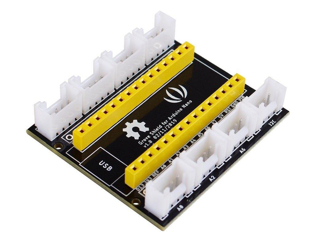 Arduino Nano Fejlesztői környezet kiegészítő Shield KIT GROOVESHIELD NANO