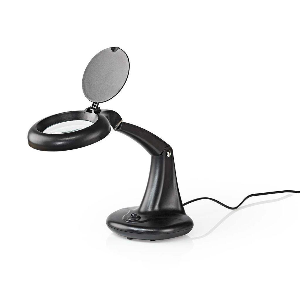 220-240V 12W 50Hz 3/13D nagyítós asztali lámpa LAMP 00001/AB