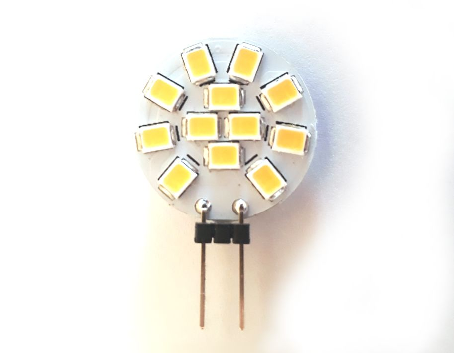12V 2W LED lámpa G4 4000K 140lm LAMP LED G4