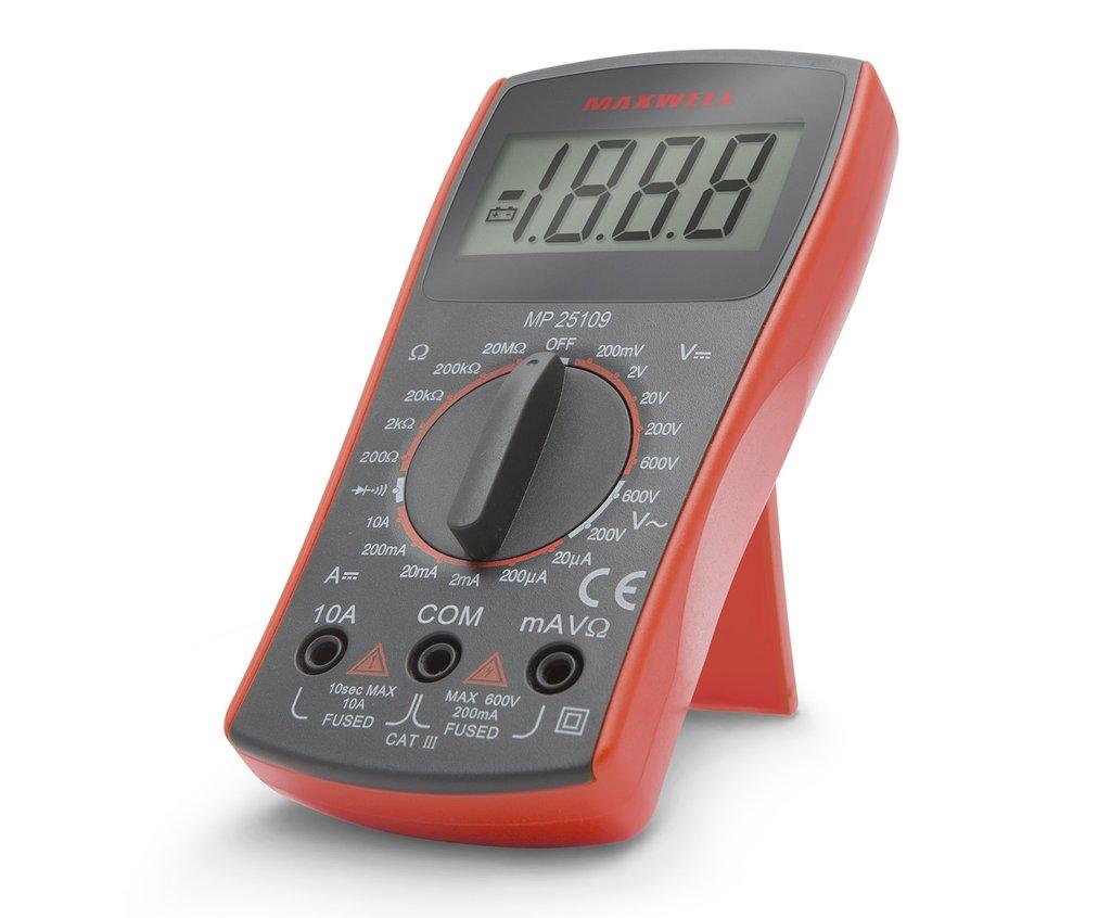 Digitális multiméter alapfunkciós MP25109 M.M-MX-BASIC01