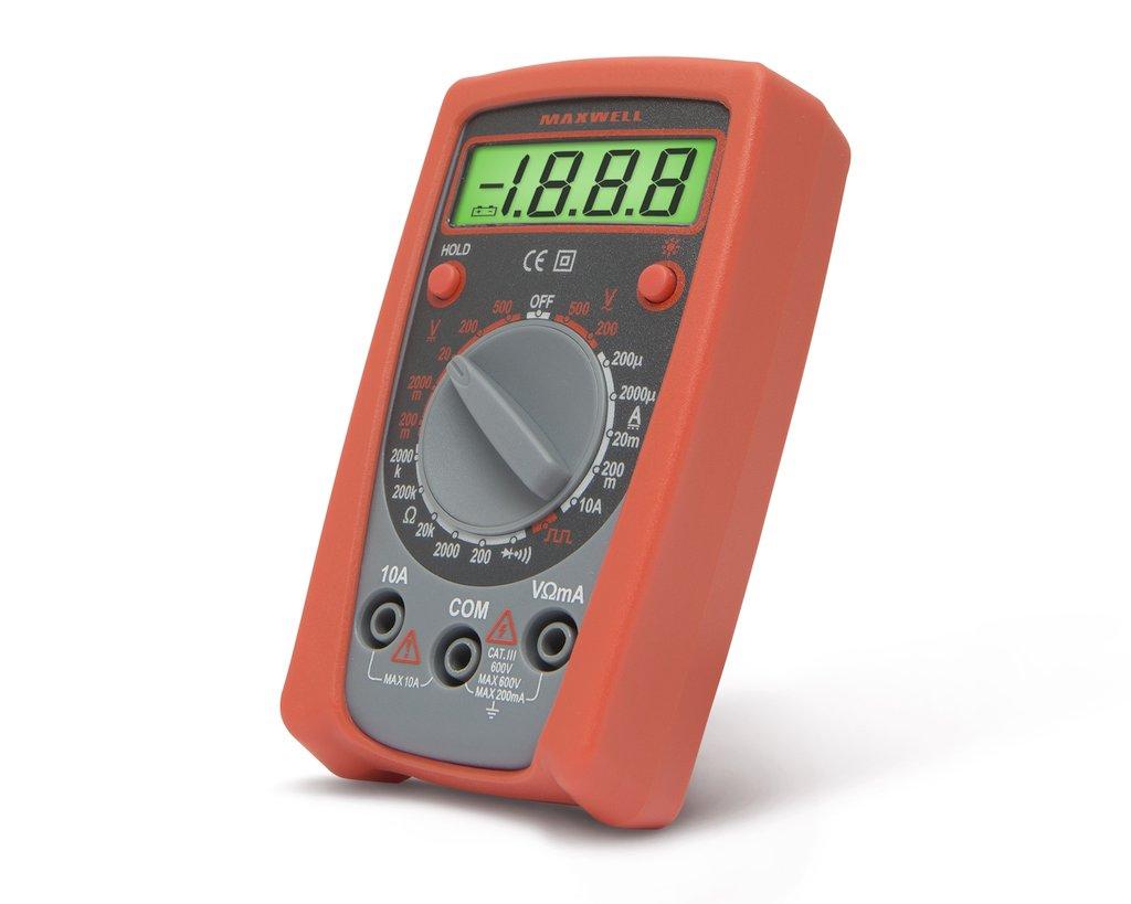 Digitális multiméter alapfunkciós MP25103 M.M-MX-BASIC02