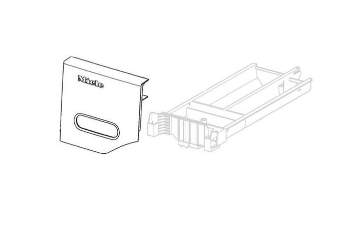 Miele szárítógép kondenzátorfiók előlap BG 5° CR M1-10348051