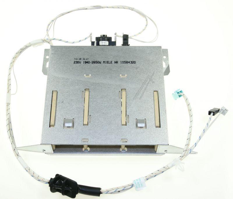 Miele szárítógép fűtőbetét, fűtőszál M1-10584320