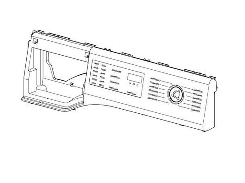 Miele mosógép előlap WDB005ECO német feliratos! M1-10872790