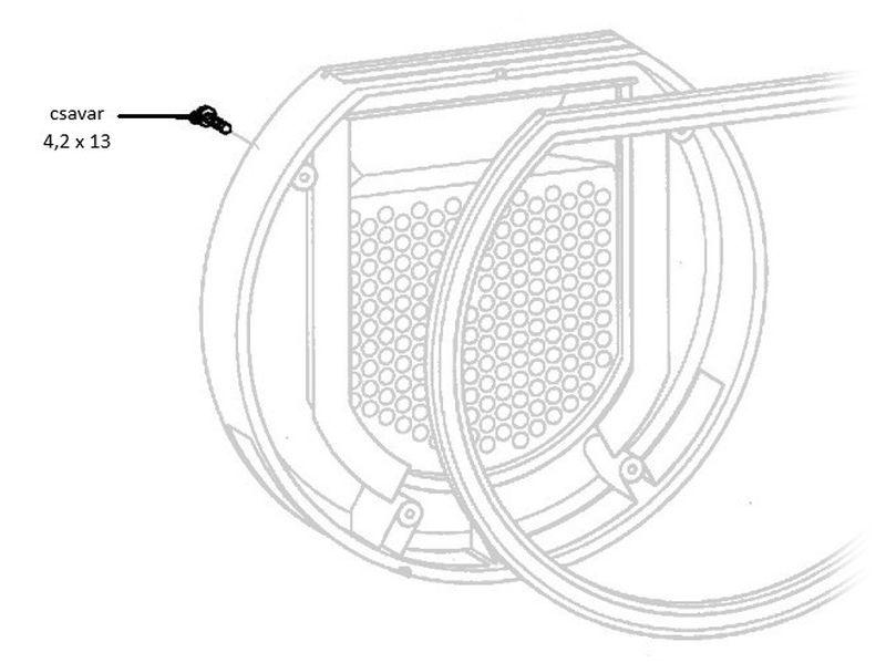 Miele szárítógép csavar 4,2x13 M1-4200880