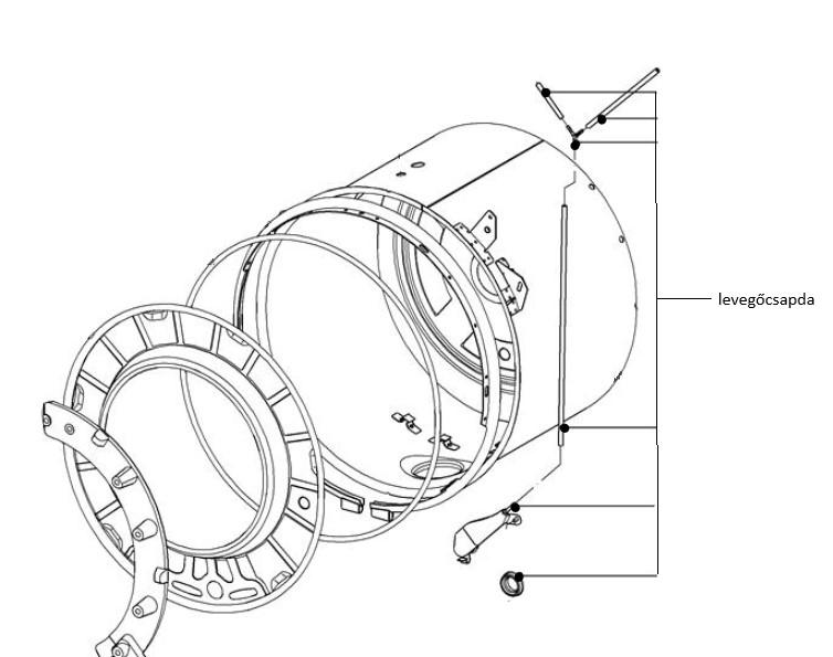 Miele Professional mosógép levegőcsapda M1-7646870