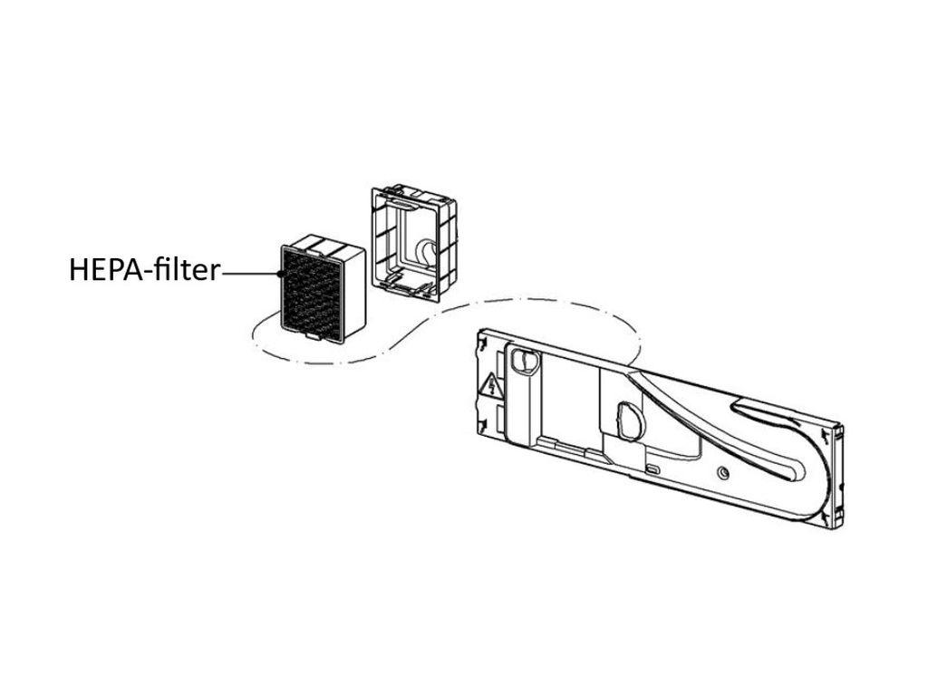 Miele Professional ipari mosogatógép HEPA-filter M4-10083921