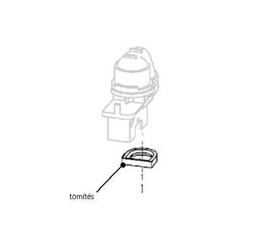 Miele mosogatógép zsírálló tömítés visszacsapó szelephez M4-10189820 -