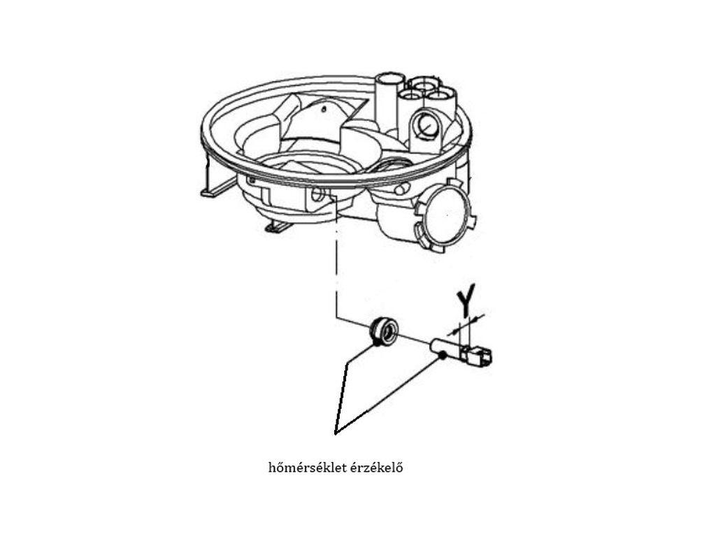 Miele mosogatógép hőmérséklet érzékelő M4-5572493 -
