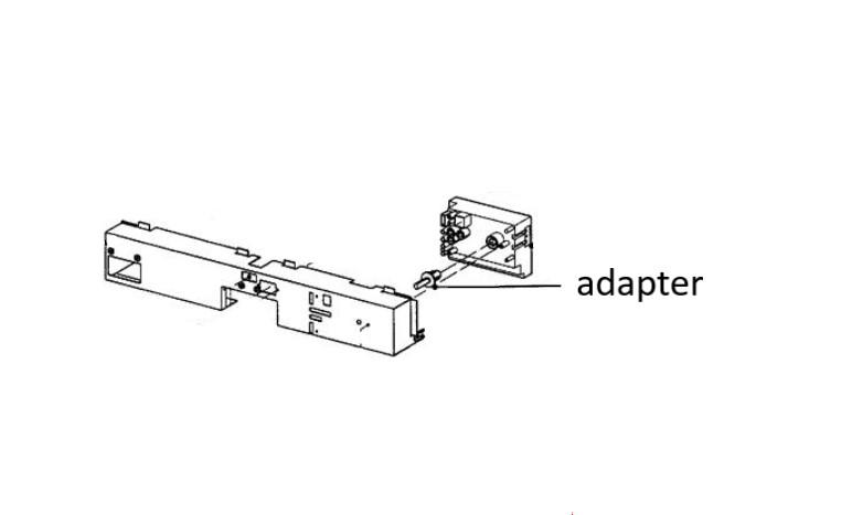 Miele mosogatógép vezérlő egység adapter M4-5640040 -