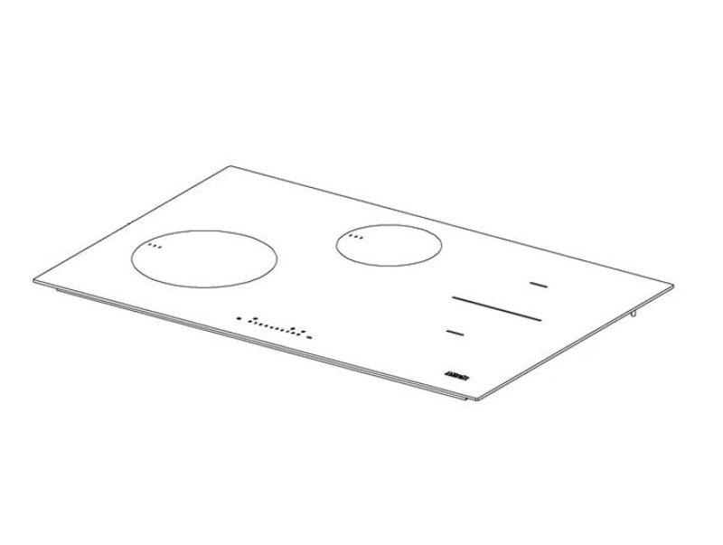 Miele indukciós főzőlap kerámia üveg M5-8601900