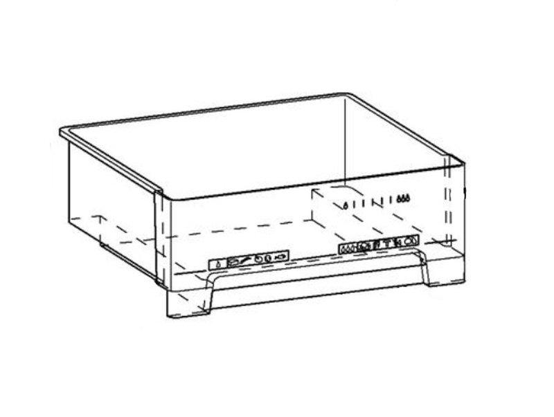 Miele hűtőszekrény zöldségesfiók 438x395x142mm M8-6262411