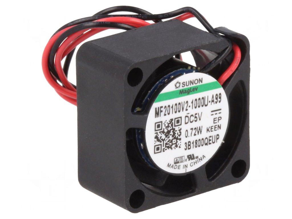 5V ventilátor 20x20x10 MF20100V2-1000U-A99 CY 2010/05-V2-A99-1