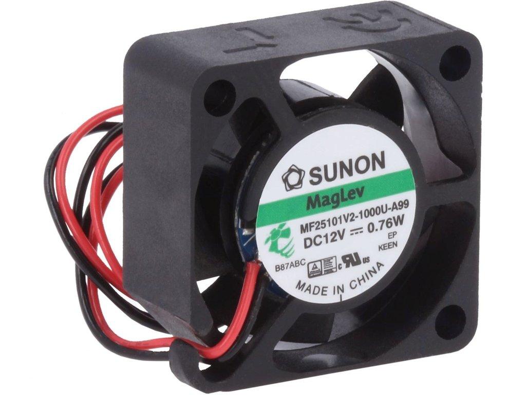 12V ventilátor 25x25x10 MF25101V2-A99 CY 2510/12V2-A99