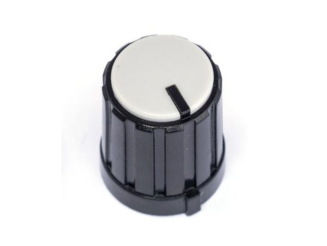 Potméter gomb 16.5x13.3mm 6mm