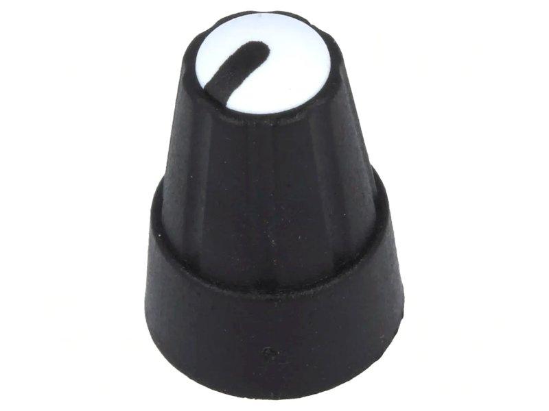 Potméter gomb 19x13mm 6mm