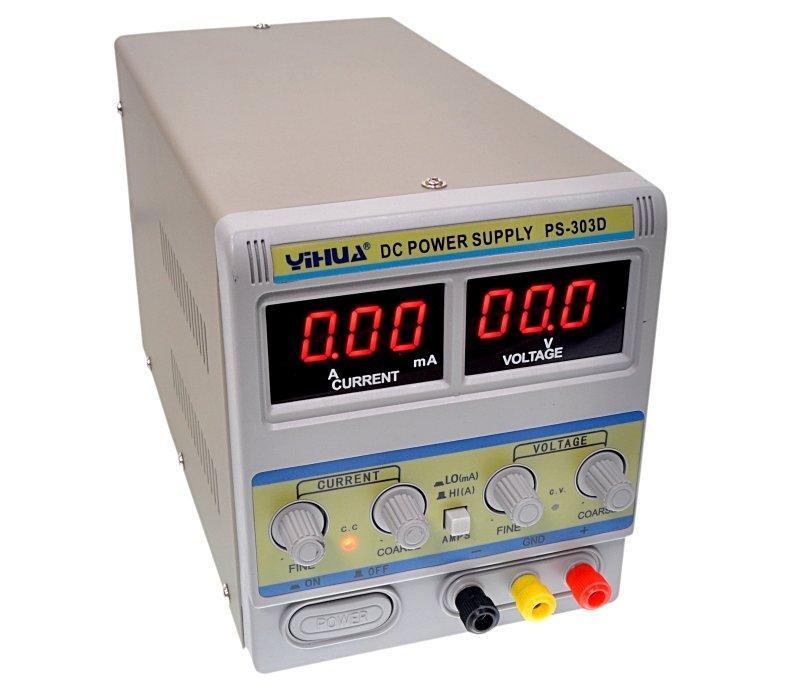 230VAC -> labor tápegység 0...30Vdc / 0...5A P.SUP.AS1005