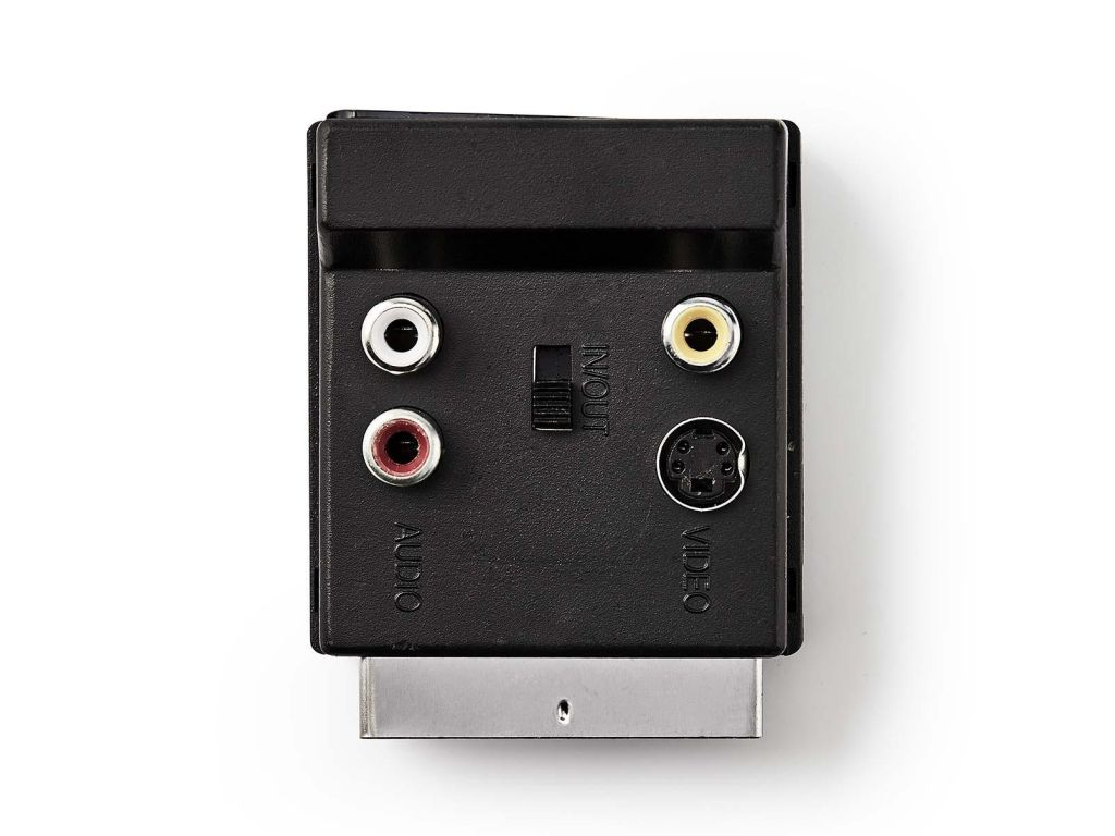 SCART/SCART +3x RCA aljzat+ S-VHS SCART 61