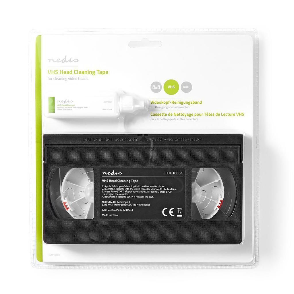 VHS-fej tisztítására szolgáló szalag   20 ml VCR HEAD CLEAN