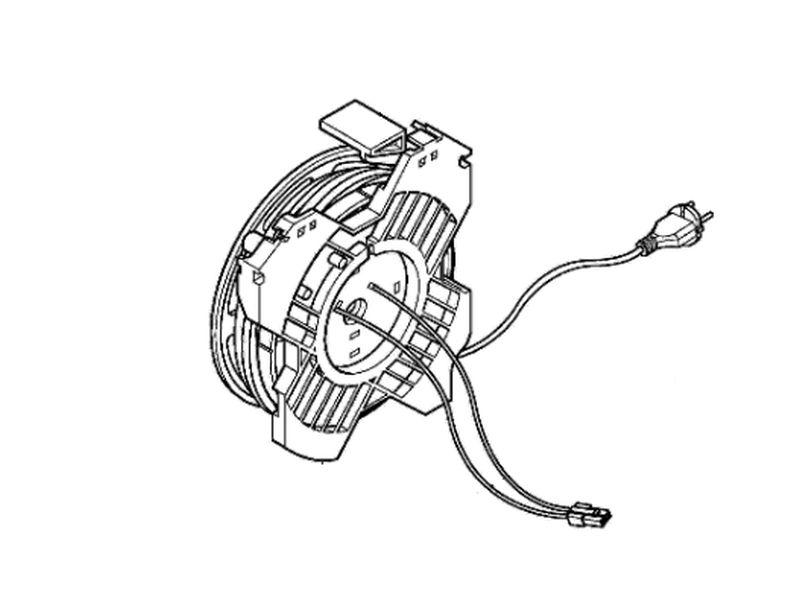 LG porszívó kábeldob W7-4687FI1482K