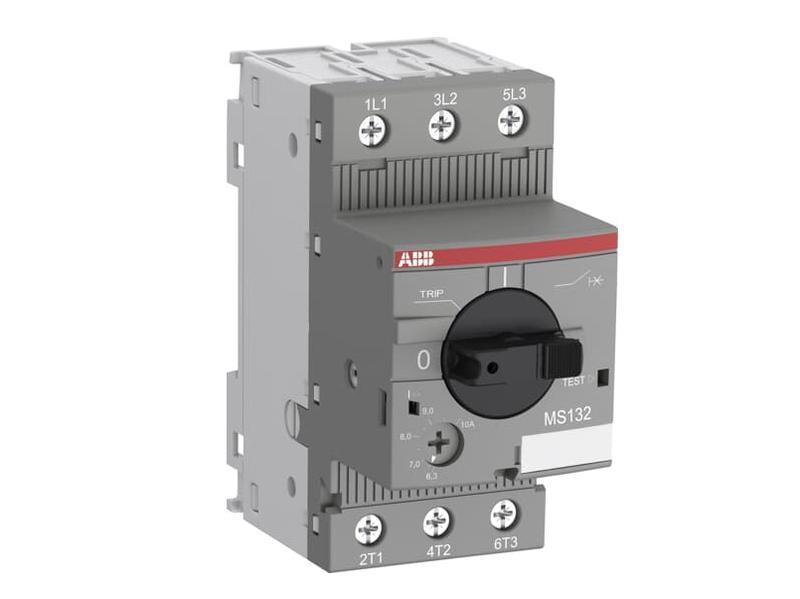 Túláramvédő 6,3-10A, motorkapcsoló, 4kW, 208-690VAC, DIN SW70030-MS132-10