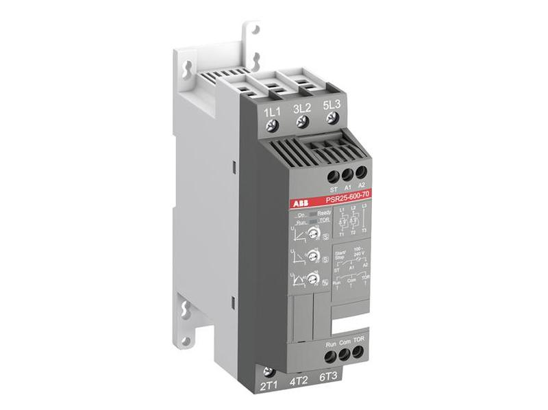 Motor lágyindító 208-600VAC, vezérelhető SW70040-PSR25-600-70