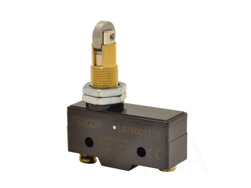 Mikrokapcsoló ON-(ON) 3p. 49,6x25,3x17,6mm, kereszt görgös SW11524-LS15GQ21B