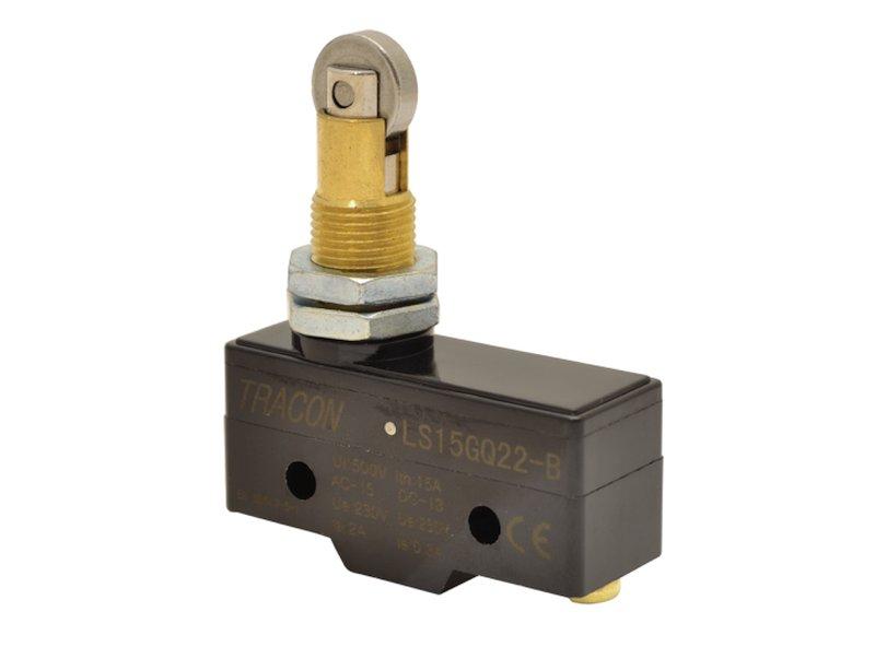 Mikrokapcsoló ON-(ON) 3p. 49,6x25,3x17,6mm, egyirányú görgös SW11524-LS15GQ22B