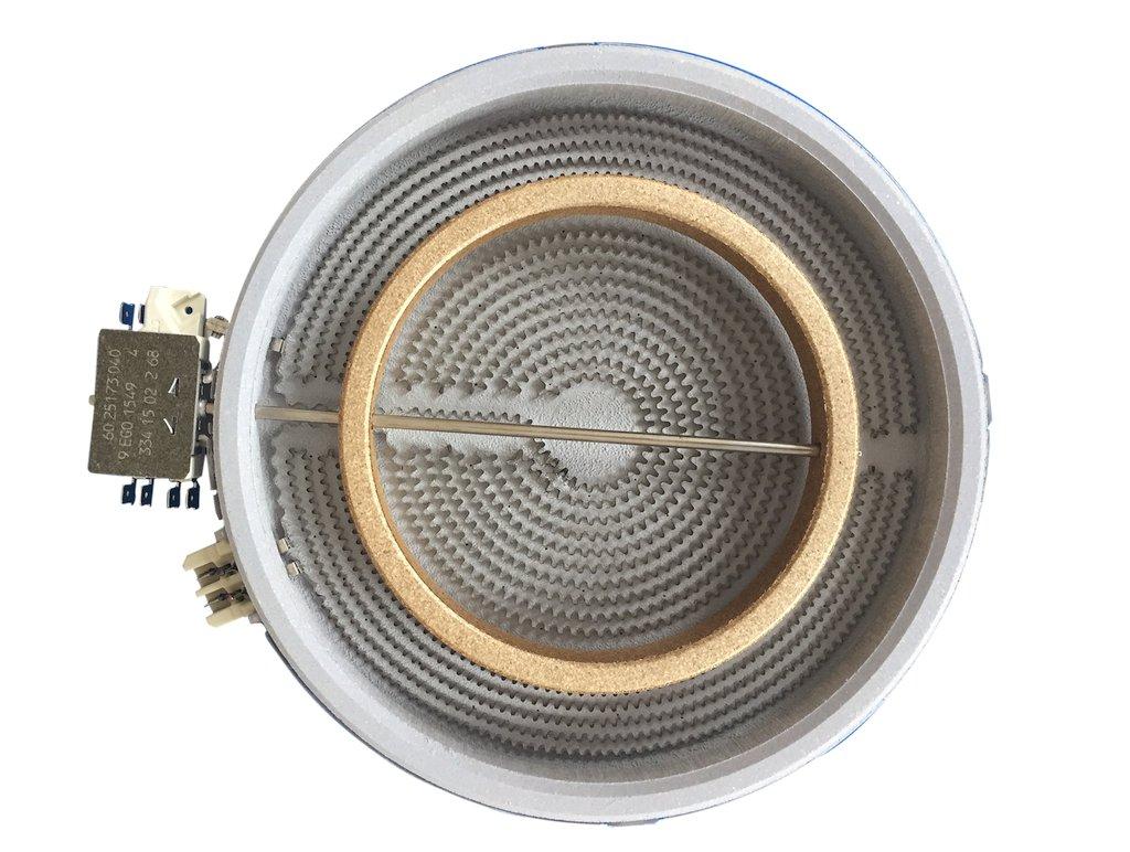 Miele beépített kerámialap hősugárzó fűtőszál (dupla fűtőszállal) M5-4342391