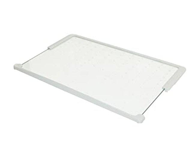 Miele hűtőszekrény üvegpolc élvédőkkel 451x271mm M8-5318731