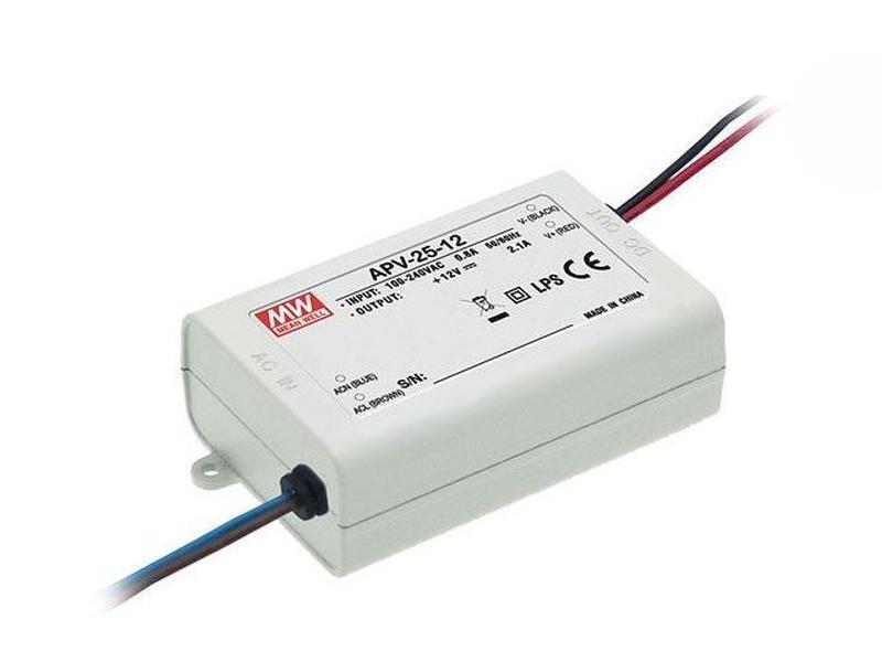 LED tápegység feszültséggenerátoros 25W/12V P.SUP.APV2512