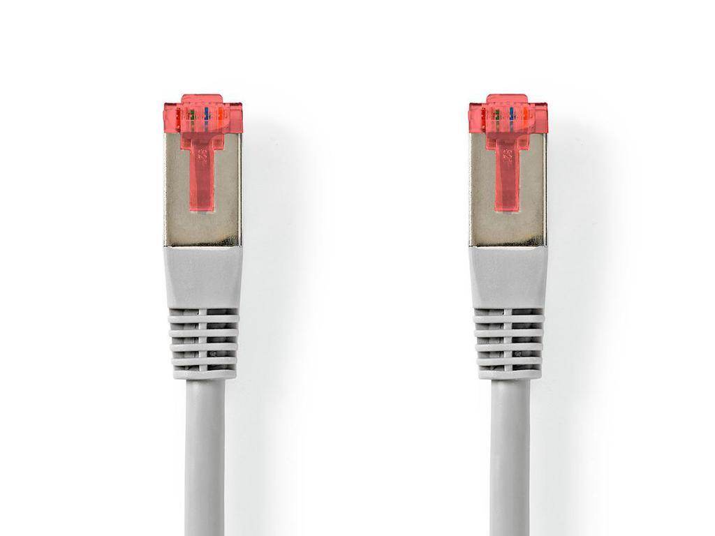 CAT6 FTP patch kábel 5m 8p+F (árnyékolt) CCA CABLE FTP/05-K6
