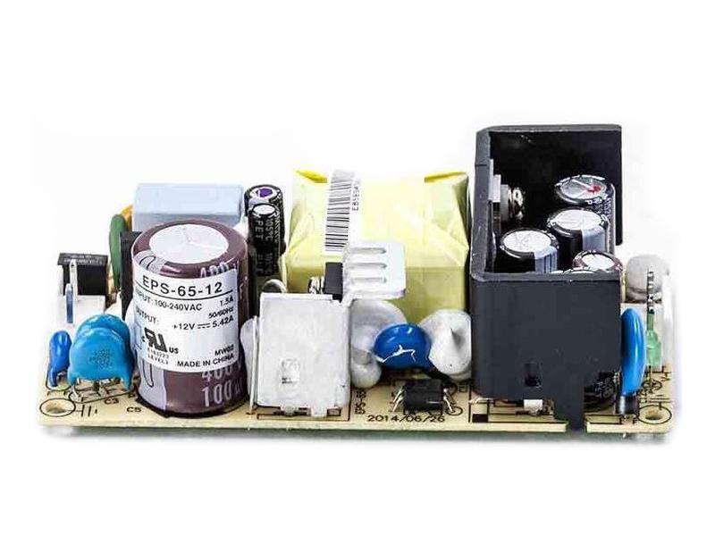 SMPS tápegység 90...264VAC 65W +12VDC 5.42A P.SUP.EPS65-12