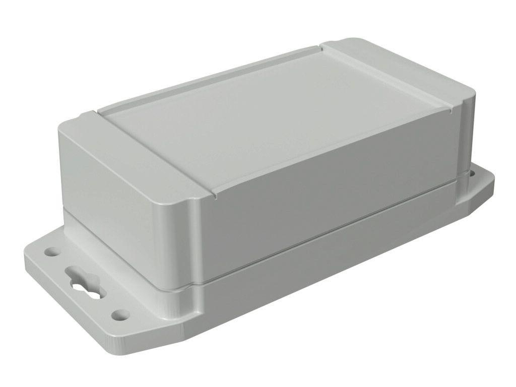 Univerzális műanyag doboz 119x65x42mm, szürke IP66 BOX 1555CF22GY