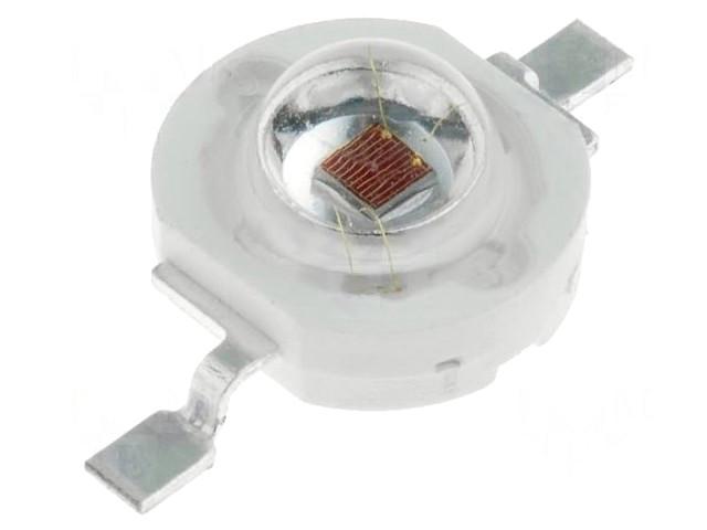 LED SMD 3W piros 70...80lm 140° OSR5XAE3E1E
