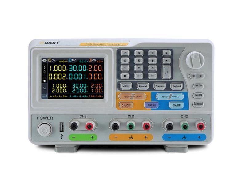 230VAC -> labor tápegység 2x0...60Vdc / 2x0...3A /1x0...6Vdc//1x0...3A P.SUP.ODP6033 -